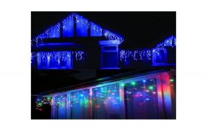 Set 2 instalatii LED ploaie 12m TURTURI