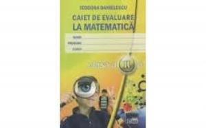 Caiet de evaluare la matematica, clasa a II-a, autor Teodora Danielescu