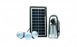 Sistem iluminare LED, incarcare solara