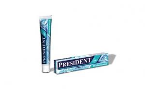 Pasta de dinţi President Professional special pentru implanturi dentare si ortodontie Clorura de Cetilpiridoniu 75 ml