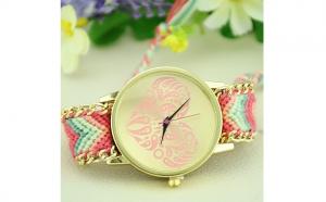 Ceas Dama - AL062 - pink, la doar 69 RON in loc de 138 RON
