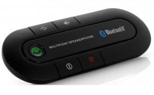 Difuzor Bluetooth handsfree pentru masina la doar 129 RON in loc de 259 RON! Garantie 12 luni!