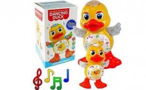 Dancing duck - jucaria care canta, danseaza si lumineaza