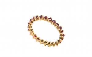 Inel din aur galben 14K - Infinity, 2.1