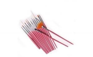Set de 15 pensule  pentru constructia si decorarea unghiilor false