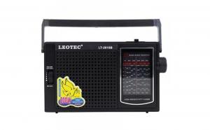 Radio portabil Leotec LT-2010,11 benzi FM/TV/MW/SW1-9, alimantare 220v si baterii.