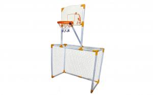 Poarta de fotbal si cos pentru baschet, 95 x 46 x 145 cm