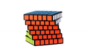 Cub Rubik 6x6x6 QiYi QiFan black, 137CUB