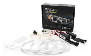 Kit Angel Eyes CCFL BMW E46 cu xenon de