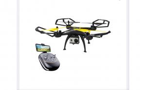 Drona Giant galben-negru WIFI cu aparat