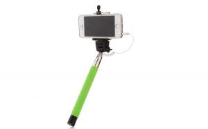 Selfie Stick EVO, cu fir, Verde