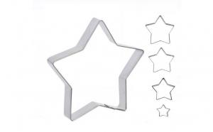 Set 5 forme de gatit metalice stelute