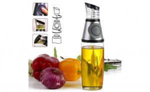 Dispenser din sticla pentru ulei si otet