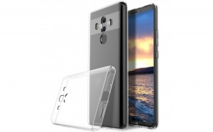Husa Huawei Mate 10 Pro Flippy Tpu Transparent 0.6 mm