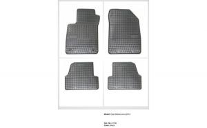 Covoare cauciuc OPEL MOKKA 2012-> ( 0708 -  P40 )