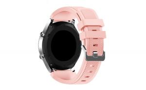 Curea Universala Silicon Premium MTP Pink Sand 22mm, Quick Release
