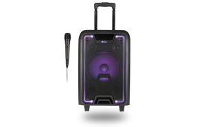 Boxa portabila cu Bluetooth neagra WILDMETAL NGS