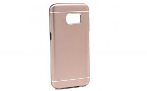 Husa Samsung Galaxy S8 Motomo V2 Roz-Auriu