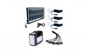 Kit panou solar Gdplus GD-7, 3 becuri, l