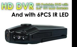 "Camera auto HD cu display 2.5"" TFT rabatabil 270 grade, 6 leduri cu infrarosu si senzor de miscare"