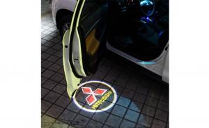 Lampi led logo portiere universale Mitsubishi