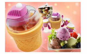Aparat de facut  Inghetata Ice Cream Maker- Nice Ice + 3 pahare speciale