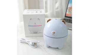 Umidificator in forma de ursulet polar, 220 ml, USB