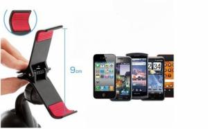 Calatoresti mai usor cu: Suport auto pentru telefon mobil sau GPS, la 19 RON in loc de 38 RON