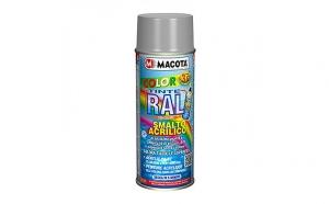 Vopsea lucioasa Spray RAL 9006 - argintiu stralucitor