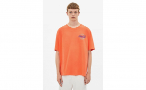 Tricou portocaliu pentru barbati