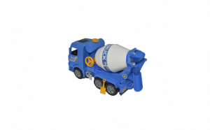 Jucarie camioneta betoniera albastra