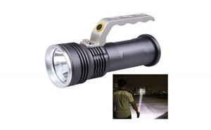 Lanterna LED cu 2 acumulatori de mare putere, 800 Lumeni