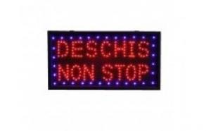 Reclama luminoasa - Deschis Non Stop la doar 65 RON