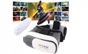 Ochelari realitate virtuala + maneta Bluetooth, pentru filme, jocuri, poze, aplicatii.