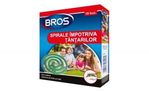 BROS – spirale fumigene anti tantari