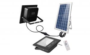 Proiector solar LED 300W, Telecomanda