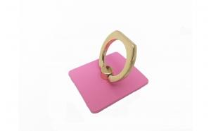 Suport pentru telefon cu inel - roz