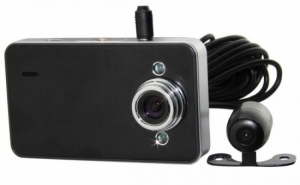 Camera video DVR auto dubla Car Vision X60, Dual Camera, HD, la 470 RON in loc de 1000 RON