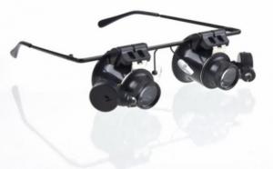 Ochelari-microscop ideali pentru studierea obiectelor mici