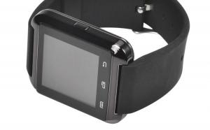 Ceas Smartwatch U8, curea din silicon, conectare Bluetooth, suport Android 5 si iOS + Garantie, la doar 109 RON de la 399 RON