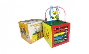 Cub educativ Montessori 5 in 1, Black Friday, Universul copiilor