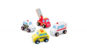 Set 4 masinute New Classic Toys din