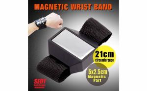 Bratara magnetica pentru organizarea ustensilelor fine