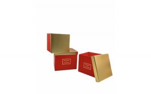 Set 3 cutii cadou, carton, 1100 g
