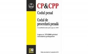 Codul penal & Codul de procedura penala (2013-09-02), autor Colectiv