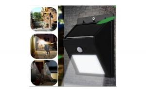 Lanterna LED + Lampa Led, incarcare solara, senzor de miscare