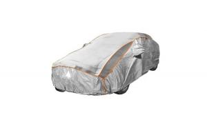 Prelata auto impermeabila cu protectie pentru grindina Fiat Tipo II hatchback - RoGroup, 3 straturi, gri