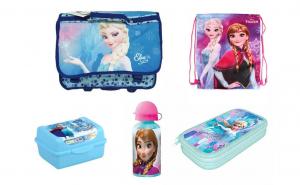 Ghiozdan scoala ergonomic echipat Frozen, White Monday, Back To School