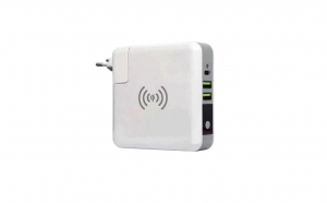 Baterie externa 6700mah cu display incarcare wireless si prin cablu