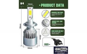 Set Becuri LED H4